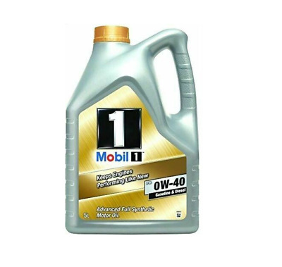 Brand New Mobil 1 FS Formula Advanced Fully Synthetic 0W40 Engine Oil 5L 153669 • 42.99£