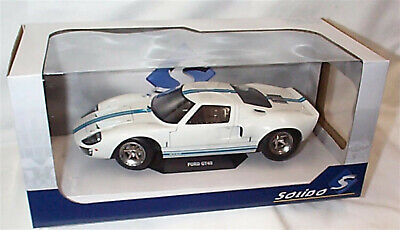Ford GT40 MK1 Widebody 1968 In White 1/18 - S1803002 SOLIDO • 45.95£