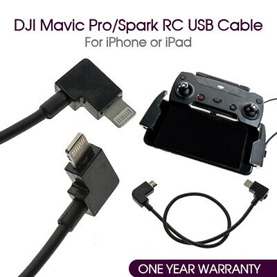 AU7.20 • Buy DJI Spark Mavic Pro Remote Controller USB To Iphone Cable