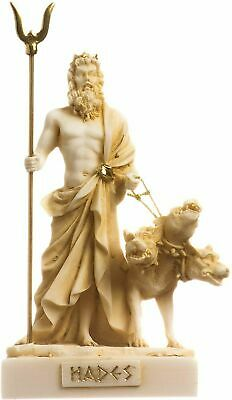 Pluto Hades Lord Of The Underworld Greek Statue Dead Figurine Museum Gold 5.51  • 21.64£
