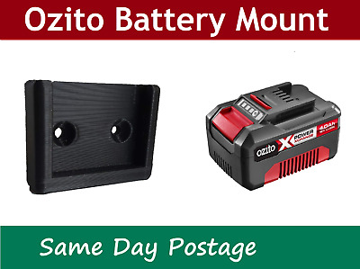 AU3.69 • Buy Ozito Battery 18V Mount - Holder Bracket Storage Tool