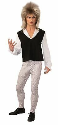 Mens Goblin Overlord Fancy Dress Costume Bowie Labyrinth Adults Outfit • 20.99£