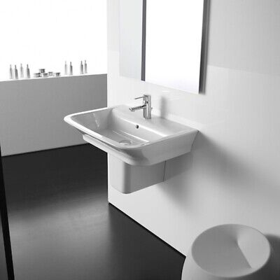 £182.95 • Buy Roca The Gap Basin And Semi Pedestal, 550mm Wide, 1 Tap Hole