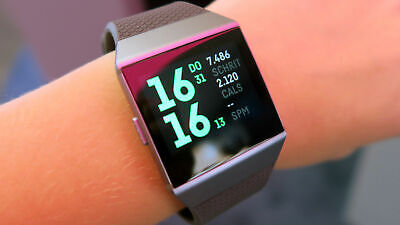 $ CDN171 • Buy FITBIT Ionic - Health & Fitness Smartwatch GPS & Heart Rate Monitoring Mix GRADE