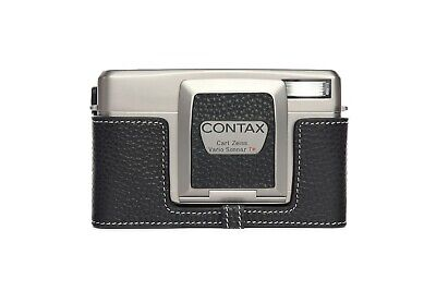 $ CDN59.62 • Buy Genuine Real Leather Half Camera Case Bag Cover For CONTAX TVS Iii