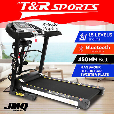 AU794.99 • Buy JMQ Fitness T900 Electric Treadmill Auto Incline Home Gym Run Exercise Machine*