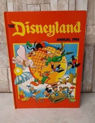 The Disneyland Annual 1986 Book Vintage Retro Disney Children's Book • 9.99£