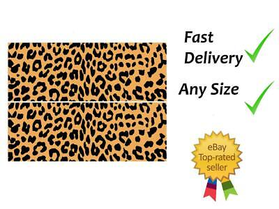 £4.99 • Buy Leopard Print Cake Bands Ribbon Cake Side Strips Icing Or Wafer