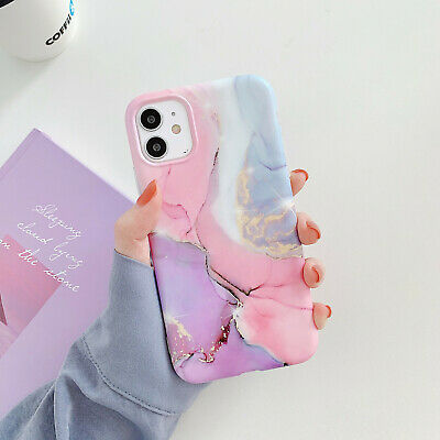 AU11.98 • Buy For IPhone 11 Pro Max Case Marble Slim Stylish Flexible TPU Bumper Case Cover