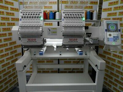£9600 • Buy Single/Twin Head Great Value 15 Needle Industrial Embroidery Machine