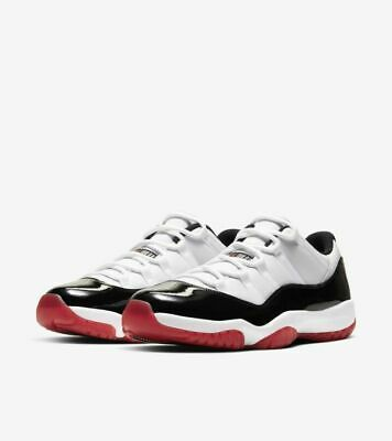 $230 • Buy AIR JORDAN 11 LOW GYM RED Confirmed Order Sz 10