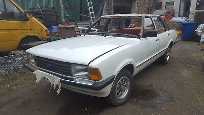 Ford Cortina 1600l Saloon 5 Dr 1980 White 80% Finished • 3,200£