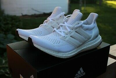 $230 • Buy Adidas Ultra Boost 1.0 Triple White Kanye West Size 9 - OG With Box