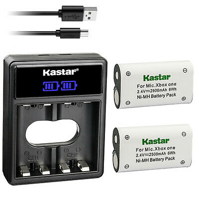 $18.99 • Buy Kastar 2 Battery + Charger For Xbox One, Xbox One S, Xbox One X, Xbox One Elite