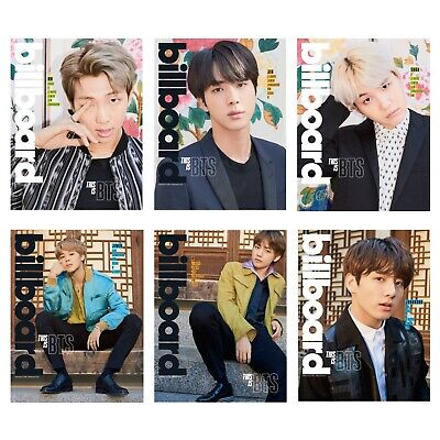 $40 • Buy [PREORDER, ALL MEMBERS] Official BTS Billboard Magazine & Poster - Feb 17, 2018