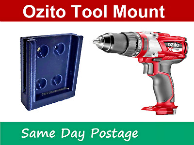 AU3.99 • Buy Ozito 18V Tool Mount - Holder Battery Bracket Storage