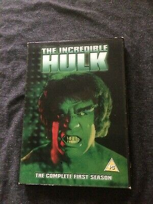 The Incredible Hulk The Complete First Season Dvd • 5.99£