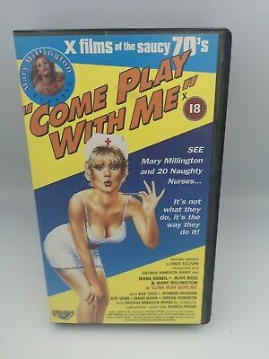 Come Play With Me VHS 18+ 1970s • 17.59£