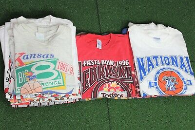 $ CDN203.59 • Buy Vintage Mystery Bundle Mens 90s Lot Made In USA Single Stitch T-Shirt L308