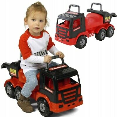 Ride-on Truck For Kids 71 Cm Long (28 Inch) Push Along Car Toy From 1 Old Year • 59.99£