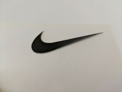 Iron On Logo Various Colours And Sizes. Sports Wear, Trainers, Bag. Swoosh Nike • 1.90£