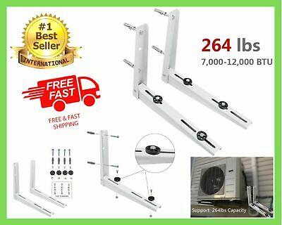 £44.36 • Buy Wall Mounting Bracket For Ductless Mini Split Air Conditioner Condensing Unit 1P
