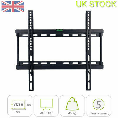Universal Tv Wall Bracket Mount 26 37 40 42 46 50 52 55 Inch Monitor Holder • 6.96£