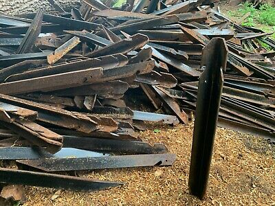 """£6 • Buy 24"""" British Army Heavy Duty Metal Stakes Tent Storm Pegs Ground Fence Post Spike"""