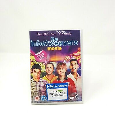The Inbetweeners Movie DVD NEW SEALED ASDA SPECIAL EDITION • 4.70£