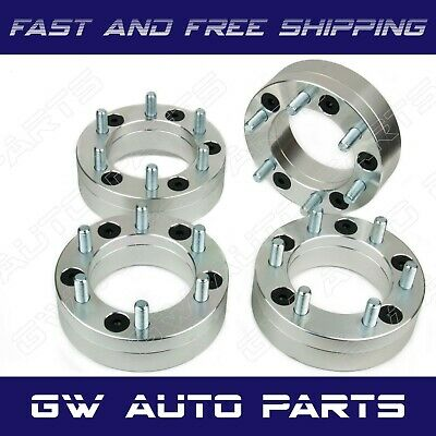$178.89 • Buy 4pc 2  Wheel Adapters 5x4.5 To 6x5.5 |5 Lug To 6 Lug | 5x114.3 To 6x139.7