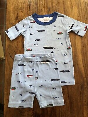 $17.50 • Buy Hanna Andersson Boys Pajamas Boats 120 US Size 6-7