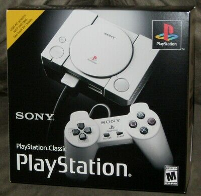 $79.99 • Buy Brand New & Sealed Sony Playstation Classic Mini Console W/ 20 Pre-loaded Games