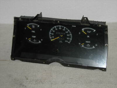AU65 • Buy Ford Zk Fairlane Ghia 6cyl Dash Cluster   209,302kms Showing