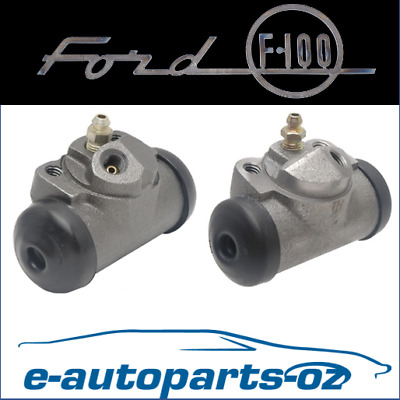 AU50 • Buy Premium Brake Rear Wheel Cylinder Set: Ford F100 F150 F250 & Bronco 1975 - 1993