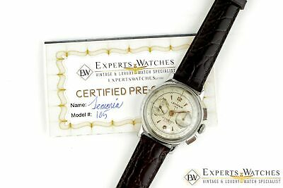 $ CDN1360.74 • Buy Vintage 1950s Lemania 105 Chronograph WWII Cal 1275 (320 / 321) CH27 Watch CPO