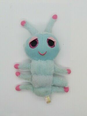 Keel Toys Podlings Caterpillar Soft Toy - Pale Blue, 20cm Collectable • 12£