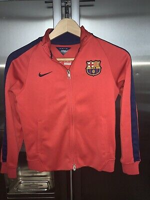 Nike  Tracksuit Jacket Track Top  Red  Kids Size M /137-147 Cm /10-12 Years • 11.99£