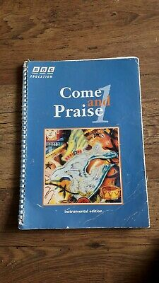BBC Come And Praise 1 Instrumental Edition Music Book • 3£