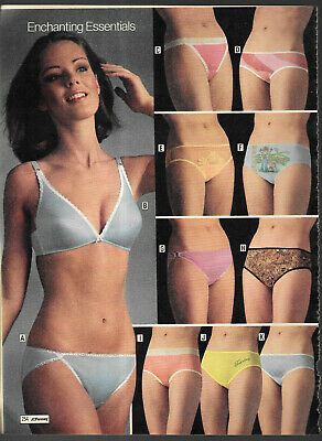 $17.99 • Buy Vintage Catalog Lingerie Underwear Photo Clippings