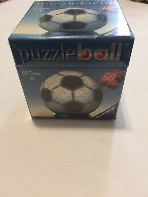 $14.99 • Buy Ravensburger 3d Soccer Puzzle Ball 54 Piece New Sealed