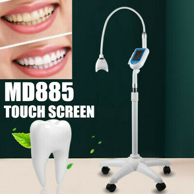 AU289.01 • Buy Dental Mobile Teeth Whitening Machine Accelerator 3 Color 8LED Light Touchscreen