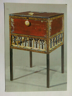 Treasures Of Tutankhamun Colour Postcard C1970s Ornate Cabinet • 0.99£