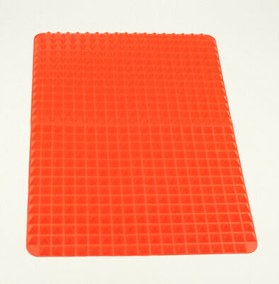 Silicone Cooking Mat Non Stick Pyramid Oven Baking Tray Sheets Pan Cookware DIY • 3.99£