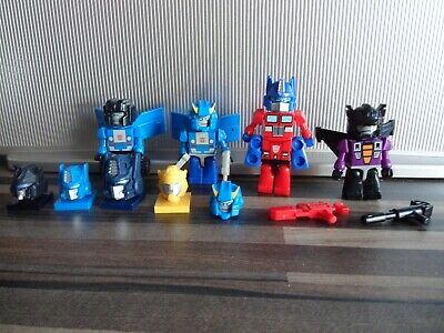 £9.99 • Buy Transformers Kre-o Figures Lot Very Good Condition Optimus Prime