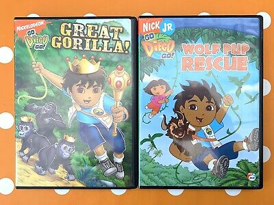 Go Diego Go! Great Gorilla DVD + Free UK Delivery • 5.39£