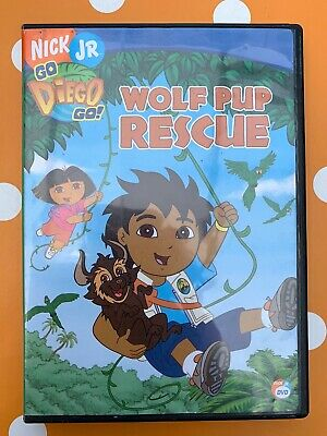 Go Diego Go! Wolf Pup Rescue DVD + Free UK Delivery • 3.89£