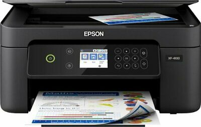 View Details Epson Expression Home XP-4100 Wireless All-In-One Inkjet Printer Black NEW • 99.00$