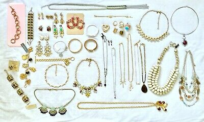 $ CDN203.65 • Buy 41 Pc LOT OF MIXED JEWELRY INCL SIGNED Kate Spade, J Crew, Juicy Coutu, Givenchy
