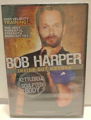 GoFit Bob Harper Kettlebell Sculpted Body 50 Minutes (DVD) NEW • 12.37£