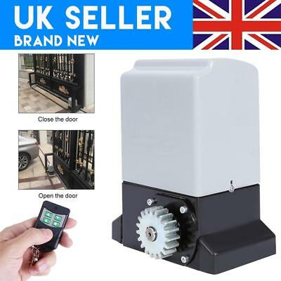 £150.07 • Buy Heavy Duty Sliding Gate Opener Electric Operator W/Remote Control Automatic